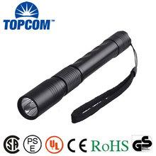 Aluminum Body High Power Light AA Battery Operated LED Flashlight