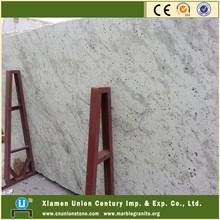 Polished new moon white granite