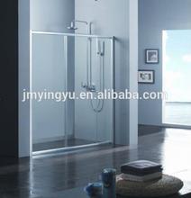 ACOC1802CL 6mm tempered glass sliding shower enclosure/coner shower room