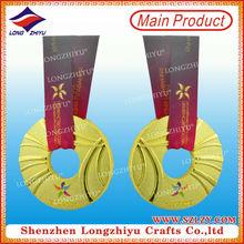 2013 rotorua hollow out souvenir metal medal