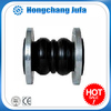 High pressure oil resistant molded black flexible silicone rubber bellows