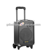 Single 10 inch mini speaker ,active multimedia amplified speaker system with USD/SD/MMC from China Factory