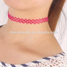 New Plastic Stretch Tattoo Choker Necklaces