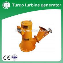 Turgo turbine AC generator,micro water turbine,micro hydroelectric power station