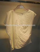 2014 new designed chiffon silk woman wear