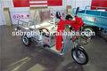 650w triciclo de carga elétrica scooter usada para baixo preço