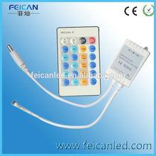 2014 clear function DC12V 24V IR 24 Key Single Color LED Controller