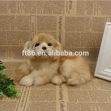 cute beautiful customized animal toy stuffed sleeping toy puppy