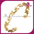 Alibaba China New Design Lovely Design Ahri etiqueta pingente corrente de ouro antigo pulseira