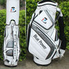 Deluxe pu leather usa golf cart bag