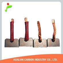 carbon brush copper brush FI 039 alternator carbon brushes