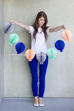 NEW 2015 Honeycomb balls decor ideas Honeycomb Balloon Garlands Tissue Paper Ball Hanging Party Decoration