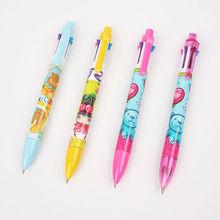 INTERWELL BP9610 Plastic Multi-Color Pen, Promotional 6 Color Pen