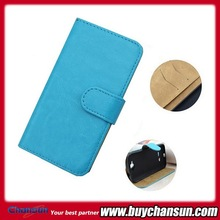 hot selling wallet card slot leather case for alcatel c7