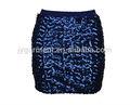 verão nova mini saia de moda projetos apertados sexy frisado sequin mini saia
