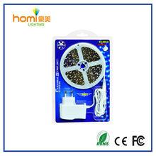 2014 new design 110v/127v led strip kit 3528blister brightness high voltage from in shenzhen suplier