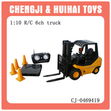 1/10 plastic kid rc forklift toy wholesale toy