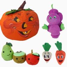 Plush Vegetables Plush Pumpkin
