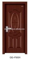 israeli fasionbale design pvc wooden doors mdf material sliding wood doors
