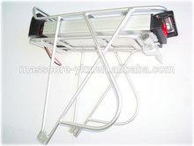 deep cycle 36v 10ah lifepo4 rear rack battery for electric bike