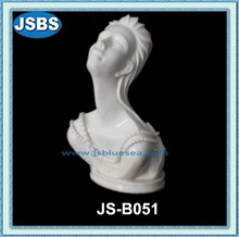 Hand Carved Abstract Stone Nude Lady Portrait