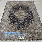6'x9' Top Quality Vintage Oriental Turkish Area Rug Hand Made Persian Silk Rug