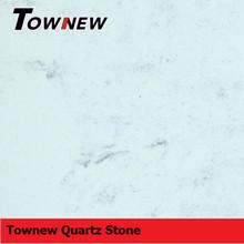 Marble like series white quartz stone slab
