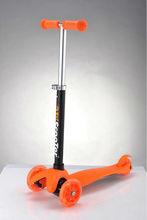 mini micro adjustable pole 3 wheel scooter