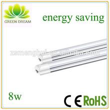 Energy saving long lifespan led fluorescent tube 8w