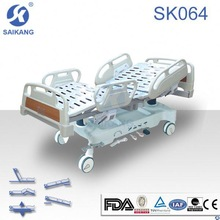 SK064 ICU hospital bed ABS system Five functions hospital bed,pneumatic hospital bed