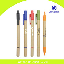 Fashion top lowest cost OEM usefully best quality ecological pen