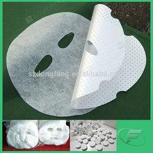 Dry Peel Off Facial Mask Sheet Material