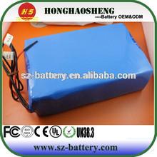 18650 battery 48v lfp batteries 48v 20ah for e-bike 1865 lipo battery