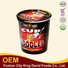 2014 Newest Special Cup Korean Halal Instant Ramen Noodle