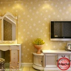 Warmly sitting and bedroom back ground non-woven wall paper