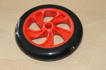 Factory supply 200mm pu wheel for scooter