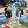 clear acrylic headphone stand
