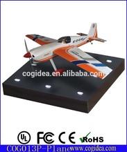 Floating Plastic plane model levitating airliner toy for boy