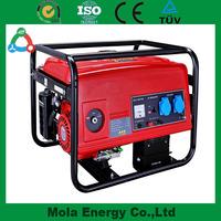 Small Portable 5kva Gasoline Generator Set For Sale