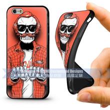 Custom design soft silicone case for iphone 6