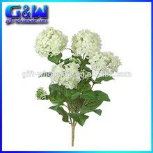 "27"" Silk Hydrangea Bush Artificial Plants Flowers - Factory directly"