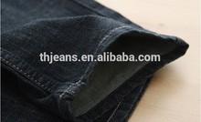 Nuovo stile di modo jeans, oem service taglio dritto jeans denim con tasche copertura
