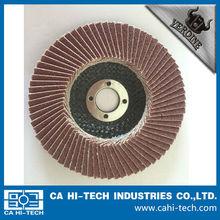 Alumina Nylon backing flap discs for metal removal