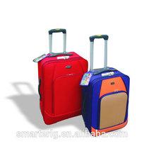 3 pcs EVA soft trolley luggage