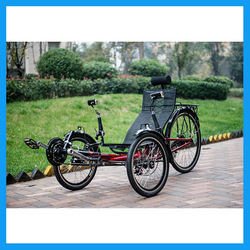 suspension recumbent trike adult tricycle for exercise