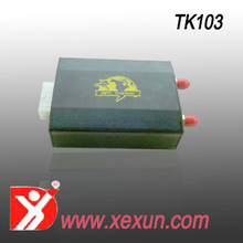 TK103 vehicle tracking device gps tracker with history trace checking real time tracking coordenate locator