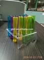Plástico descartável titular tubo de ensaio