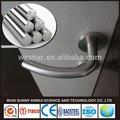 top qualité de cire 316 tige en acier inoxydable