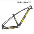 26er mtb quadro de carbono mtb 26 pintura de fibra de carbono quadro de bicicleta
