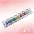 Multi- color de pintura de la cara de brillo en polvo glitter/brillo cuerpo